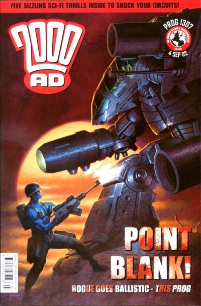 Cover for 2000 AD (Rebellion, 2001 series) #1307