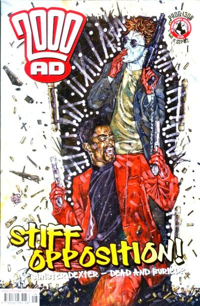 Cover for 2000 AD (Rebellion, 2001 series) #1308