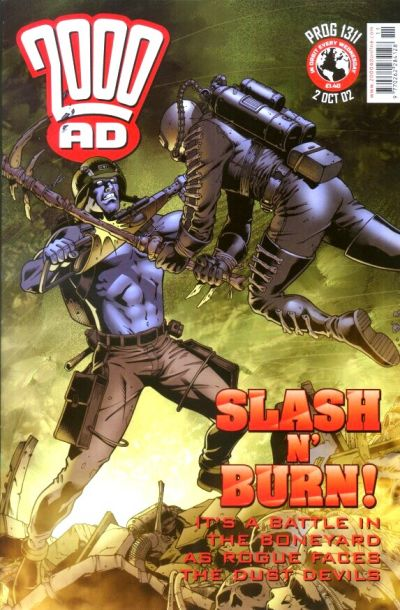 Cover for 2000 AD (Rebellion, 2001 series) #1311