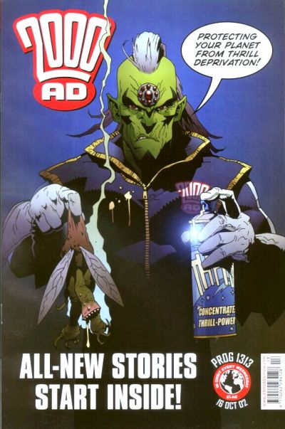 Cover for 2000 AD (Rebellion, 2001 series) #1313
