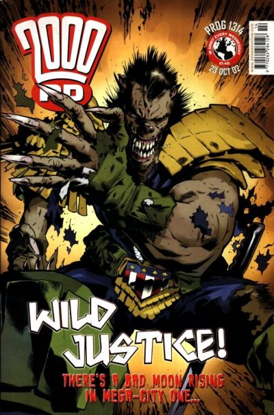 Cover for 2000 AD (Rebellion, 2001 series) #1314