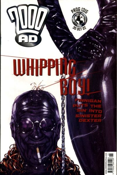 Cover for 2000 AD (Rebellion, 2001 series) #1315