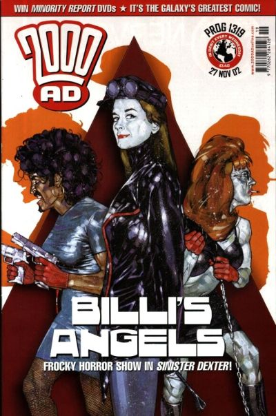 Cover for 2000 AD (Rebellion, 2001 series) #1319