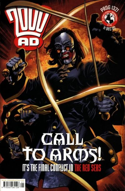 Cover for 2000 AD (Rebellion, 2001 series) #1321