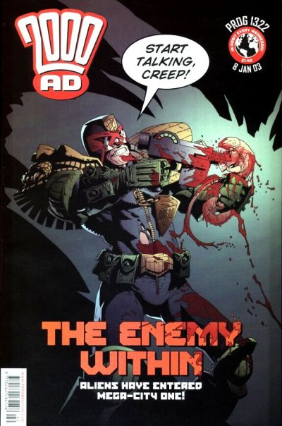 Cover for 2000 AD (Rebellion, 2001 series) #1322