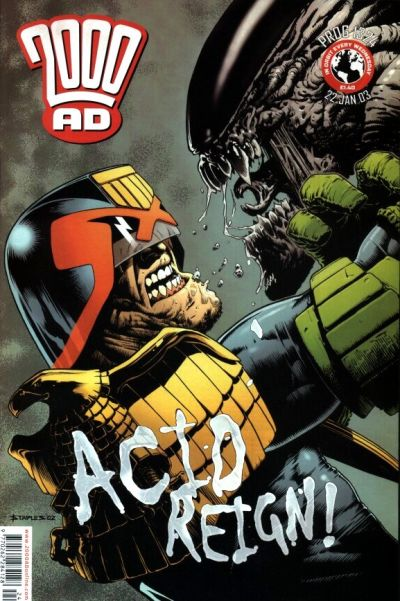 Cover for 2000 AD (Rebellion, 2001 series) #1324