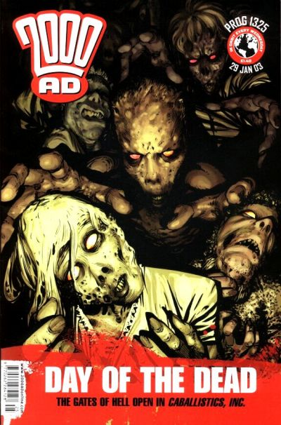 Cover for 2000 AD (Rebellion, 2001 series) #1325