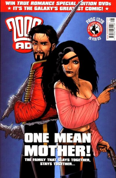 Cover for 2000 AD (Rebellion, 2001 series) #1328