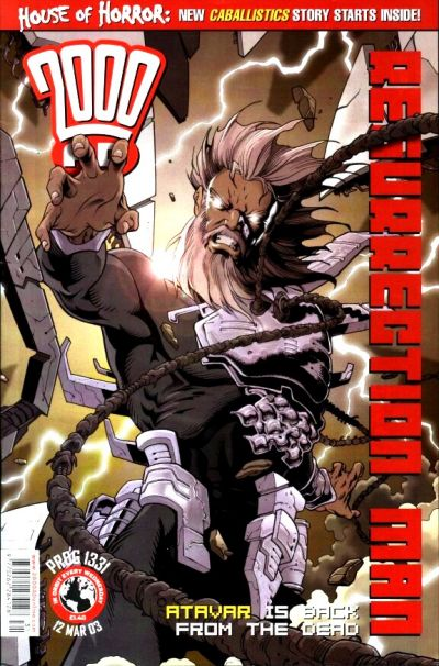 Cover for 2000 AD (Rebellion, 2001 series) #1331