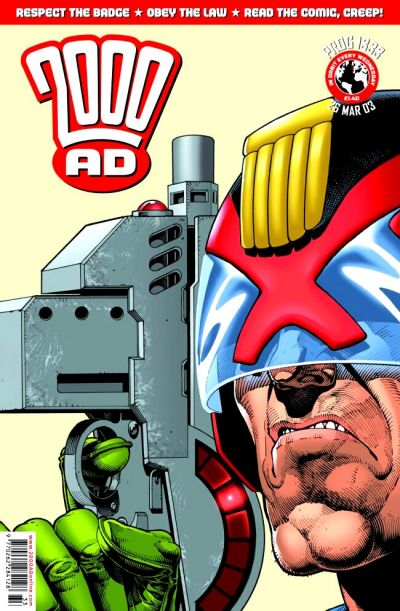Cover for 2000 AD (Rebellion, 2001 series) #1333