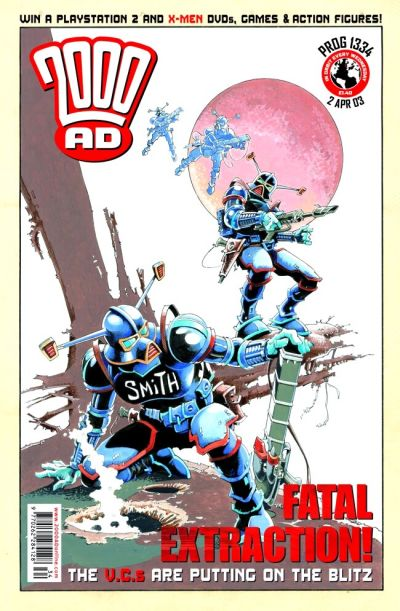 Cover for 2000 AD (Rebellion, 2001 series) #1334