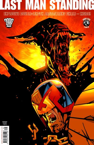 Cover for 2000 AD (Rebellion, 2001 series) #1335