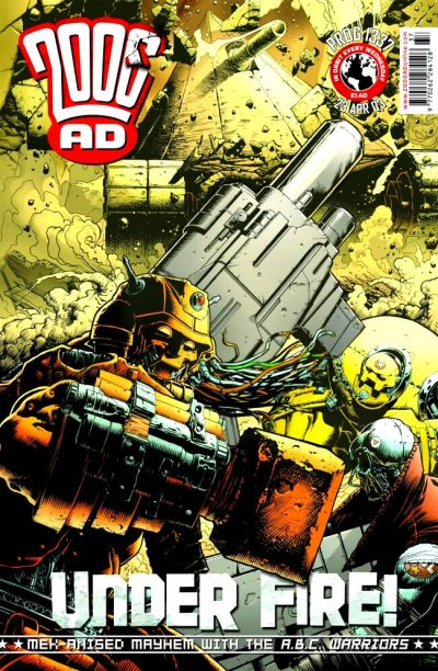Cover for 2000 AD (Rebellion, 2001 series) #1337