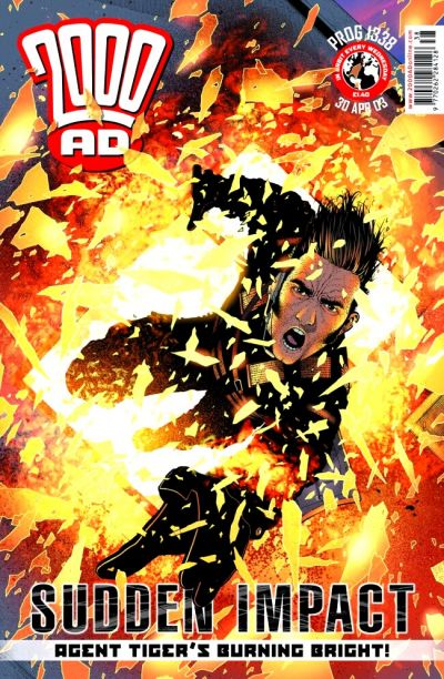 Cover for 2000 AD (Rebellion, 2001 series) #1338