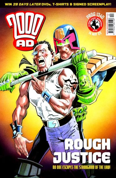 Cover for 2000 AD (Rebellion, 2001 series) #1340
