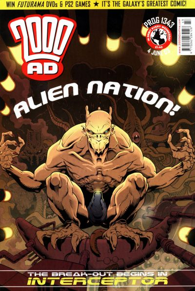 Cover for 2000 AD (Rebellion, 2001 series) #1343