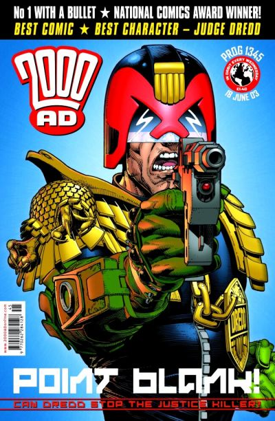 Cover for 2000 AD (Rebellion, 2001 series) #1345