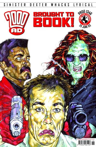 Cover for 2000 AD (Rebellion, 2001 series) #1346