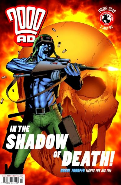 Cover for 2000 AD (Rebellion, 2001 series) #1347