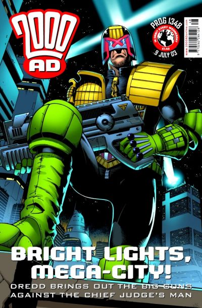 Cover for 2000 AD (Rebellion, 2001 series) #1348