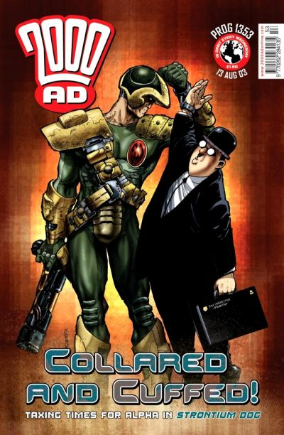 Cover for 2000 AD (Rebellion, 2001 series) #1353