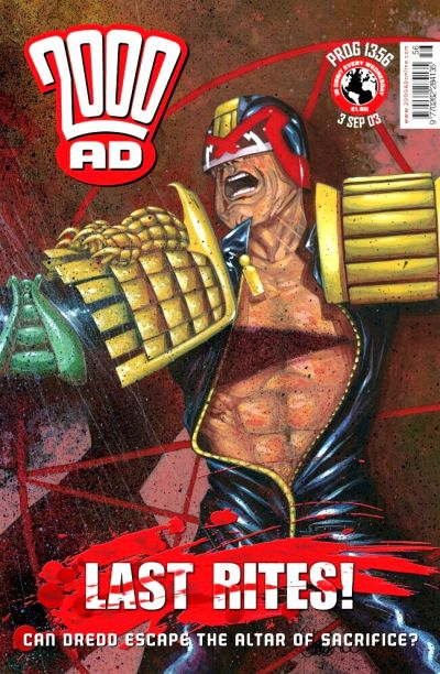Cover for 2000 AD (Rebellion, 2001 series) #1356