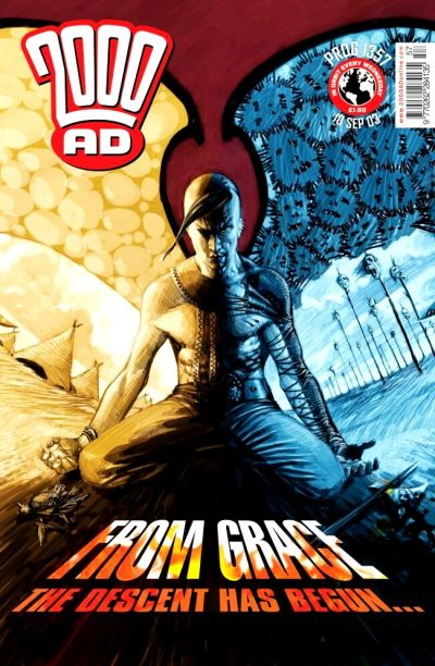 Cover for 2000 AD (Rebellion, 2001 series) #1357