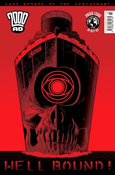 Cover for 2000 AD (Rebellion, 2001 series) #1360