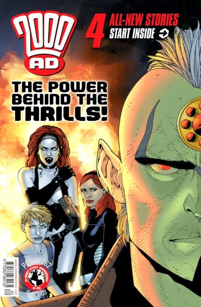 Cover for 2000 AD (Rebellion, 2001 series) #1362