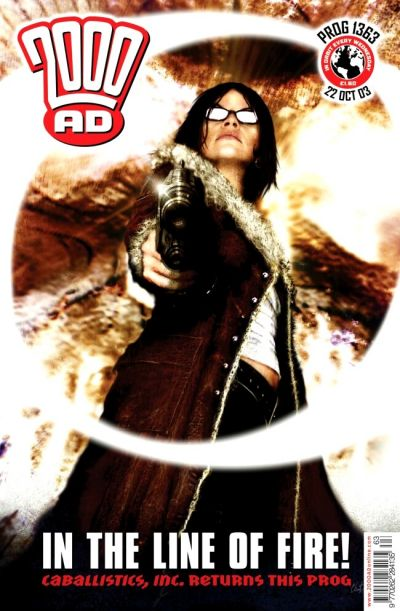 Cover for 2000 AD (Rebellion, 2001 series) #1363