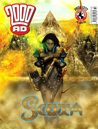 Cover for 2000 AD (Rebellion, 2001 series) #1372