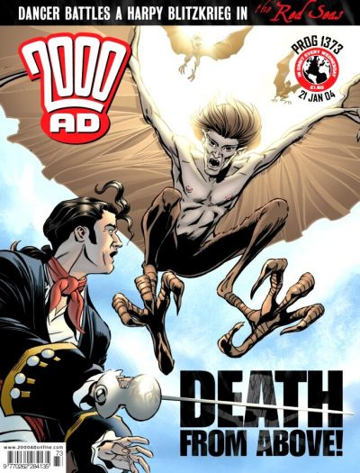 Cover for 2000 AD (Rebellion, 2001 series) #1373