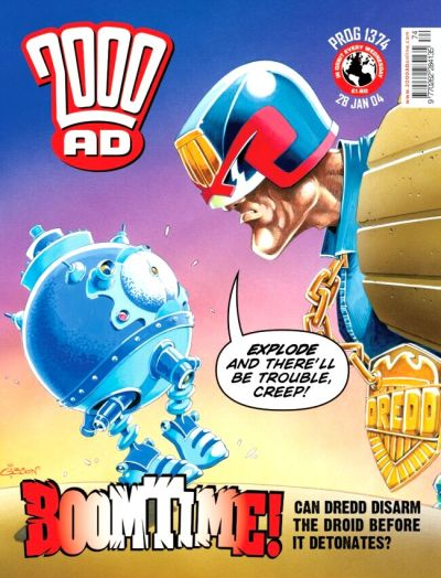 Cover for 2000 AD (Rebellion, 2001 series) #1374