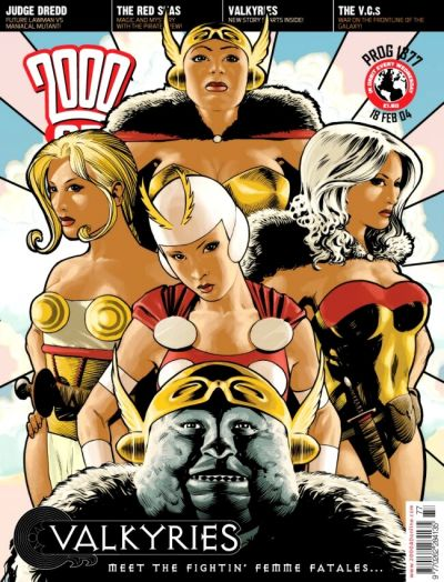 Cover for 2000 AD (Rebellion, 2001 series) #1377