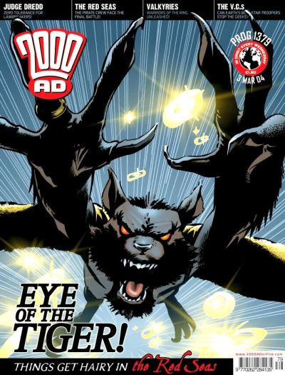 Cover for 2000 AD (Rebellion, 2001 series) #1379