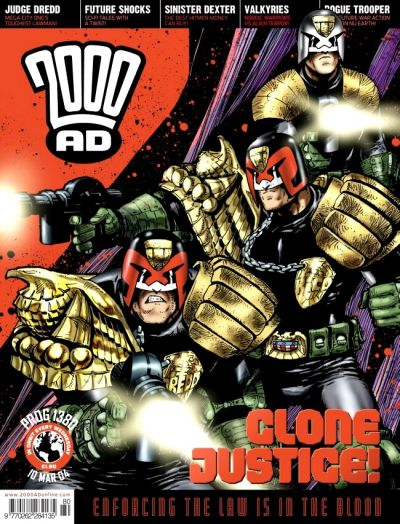 Cover for 2000 AD (Rebellion, 2001 series) #1380