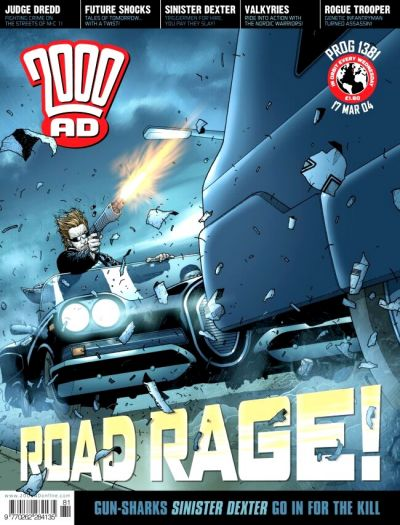 Cover for 2000 AD (Rebellion, 2001 series) #1381