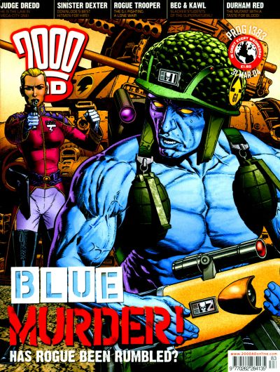 Cover for 2000 AD (Rebellion, 2001 series) #1383