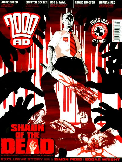 Cover for 2000 AD (Rebellion, 2001 series) #1384