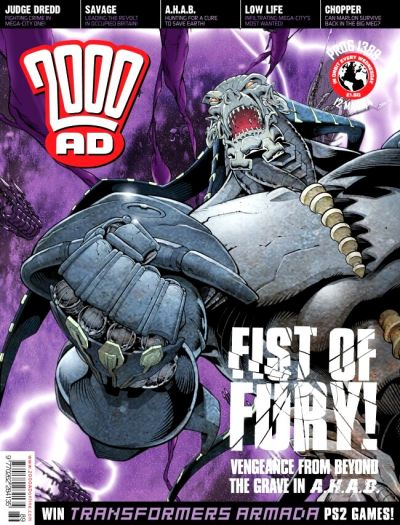 Cover for 2000 AD (Rebellion, 2001 series) #1389