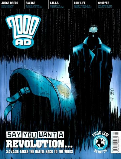 Cover for 2000 AD (Rebellion, 2001 series) #1391