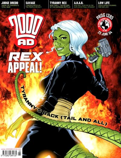 Cover for 2000 AD (Rebellion, 2001 series) #1395