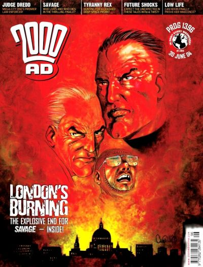 Cover for 2000 AD (Rebellion, 2001 series) #1396