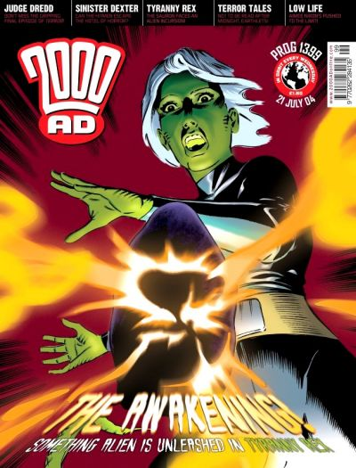 Cover for 2000 AD (Rebellion, 2001 series) #1399