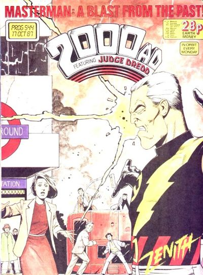 Cover for 2000 AD (Fleetway Publications, 1987 series) #544