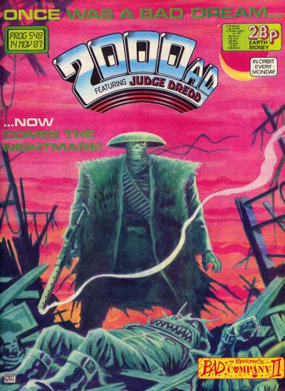 Cover for 2000 AD (Fleetway Publications, 1987 series) #548