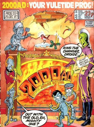 Cover for 2000 AD (Fleetway Publications, 1987 series) #554