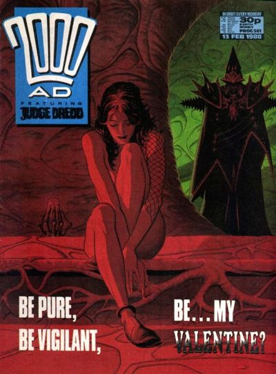 Cover for 2000 AD (Fleetway Publications, 1987 series) #561