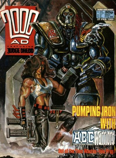 Cover for 2000 AD (Fleetway Publications, 1987 series) #563