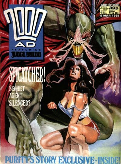 Cover for 2000 AD (Fleetway Publications, 1987 series) #564